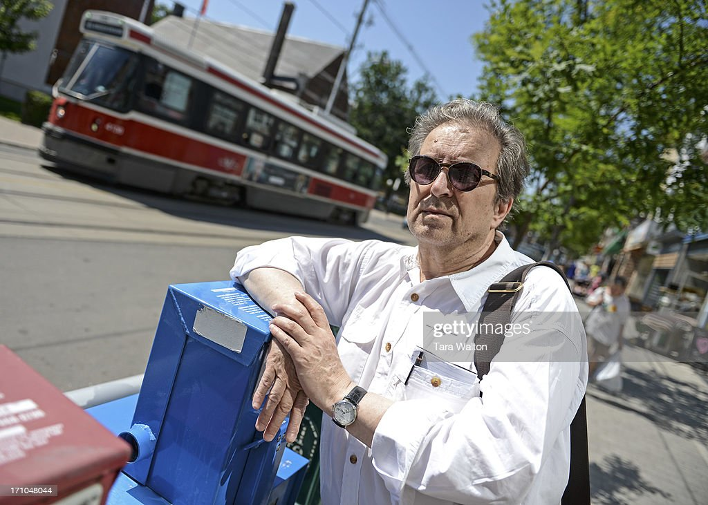 TORONTO, ON - Toronto Star columnist Joe Fiorito poses for a photo Thursday JUNE 20, 2013 along Roncesvalles Ave. Photo to run with Friday column about 65 things Fiorito has learned in his 65 years. June 20, 2013. Tara Walton/Toronto Star