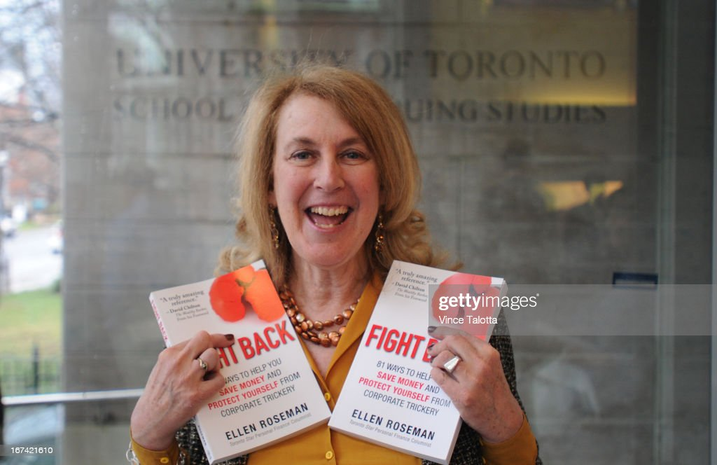 Ellen Roseman At Book Launch for Fight Back