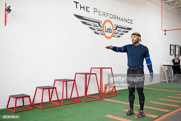 Toronto Star reporter Morgan Campbell testing out the 3D motion capture system at The Performance Lab in North York on February 2 2015 Sports parents...