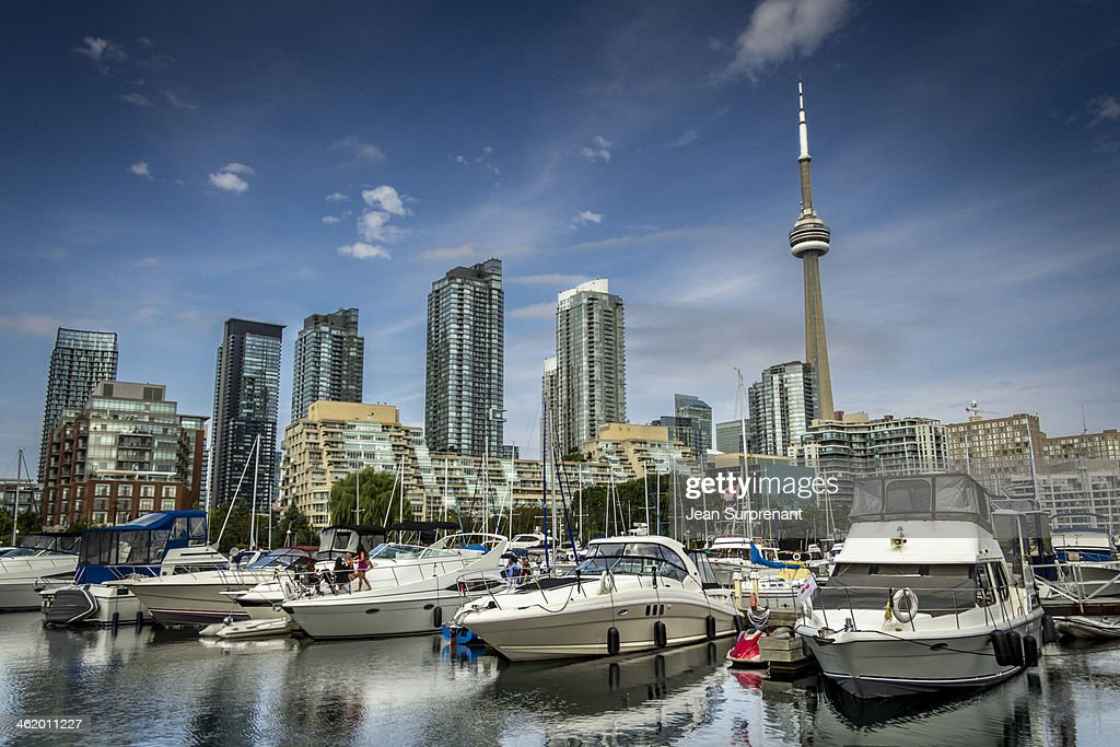 Toronto yatchs : Stock Photo