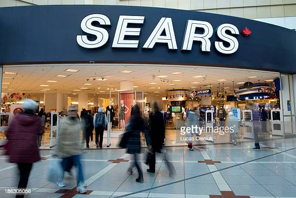 Toronto's downtown Sears store located in the Eaton Centre is one of five locations that will put their leases up for sale October 29 2013