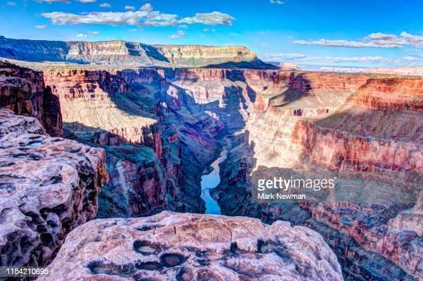 torowheap overlook - grand canyon stock-fotos und bilder