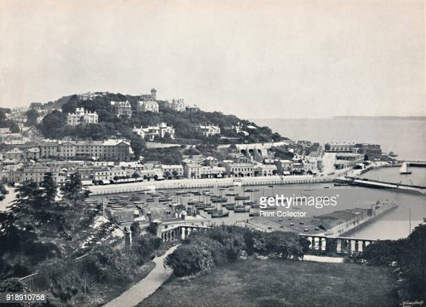 'Torquay General View from Waldron Hill' 1895 From Round the Coast [George Newnes Limited London 1895]Artist Unknown