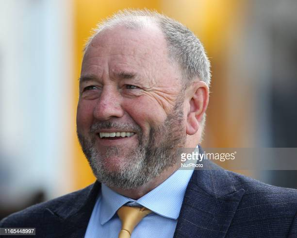 Torquay United manager Gary Johnson during the Vanarama National League match between Torquay United and Hartlepool United at Plainmoor, Torquay on...