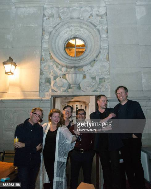 Torquil Campbell Amy Millan Patrick McGee Chris Seligman Evan Cranley and Chris McCarron of Stars at Hollywood Forever on November 30 2017 in...
