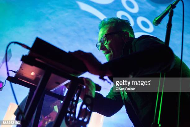 Torquil Campbell of Stars performs at Hollywood Forever on November 30 2017 in Hollywood California