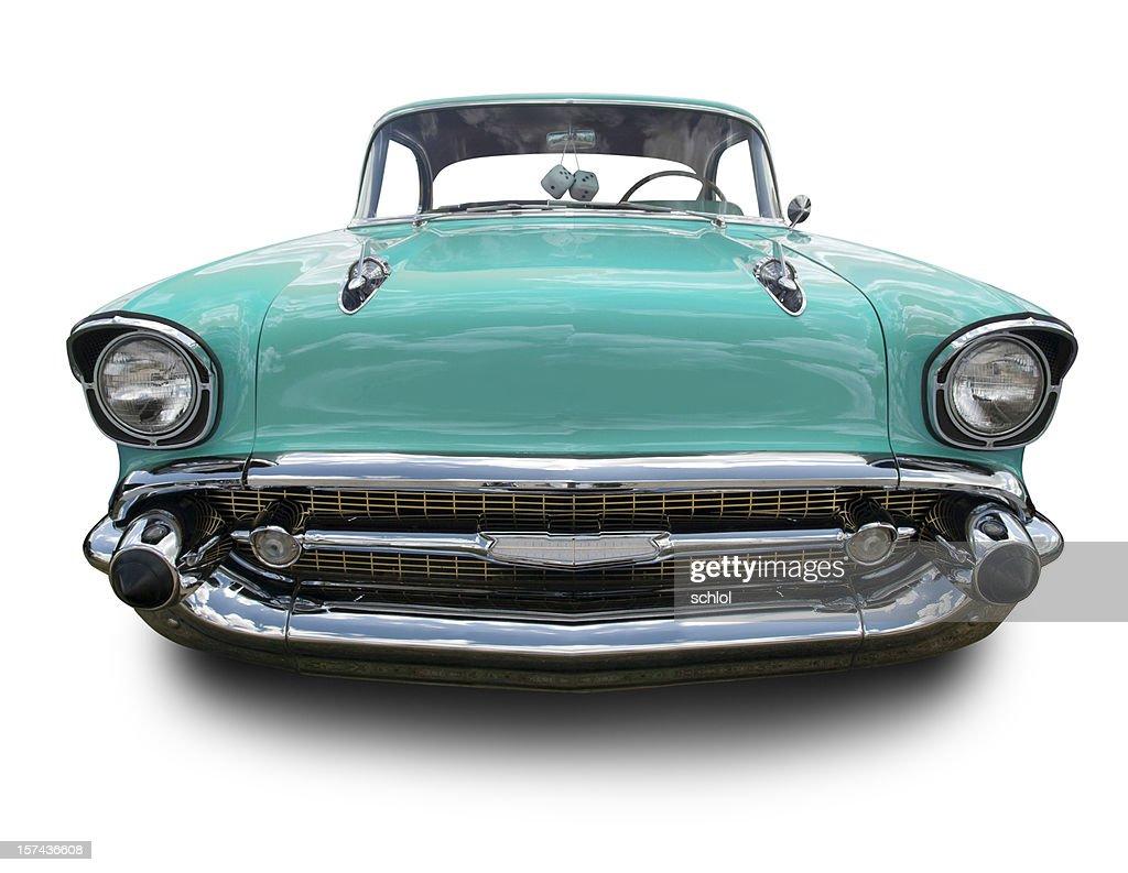 Torquoise 1957 Chevy : Stock Photo