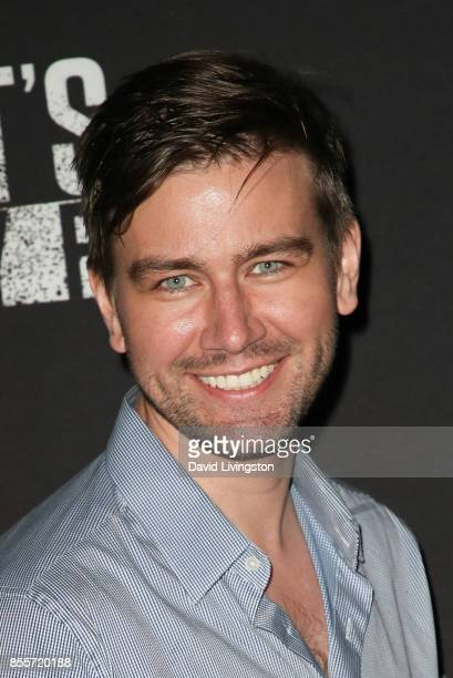 Torrance Coombs attends the Knott's Scary Farm and Instagram's Celebrity Night at Knott's Berry Farm on September 29 2017 in Buena Park California