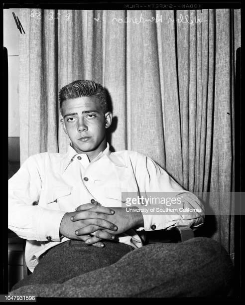 Torrance rape and shooting, 28 August 1958. Wilbern J Henderson -- 16 years ;Officer Charles Tolles ..