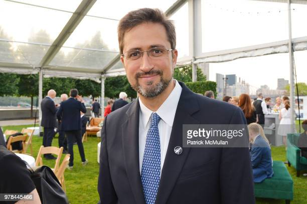 Torrance Robinson attends the Franklin D Roosevelt Four Freedoms Park's gala honoring Founder Ambassador William J Vanden Heuvel at Franklin D...