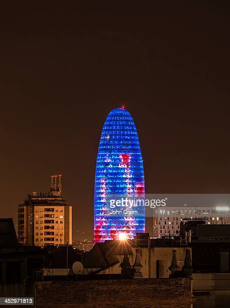 Torre Agbar building in the technolgy district