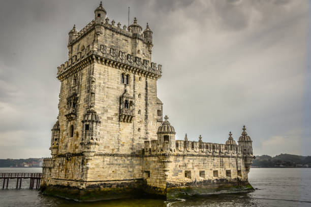 Torre de Belém on the Targus River - Lisbon Portugal