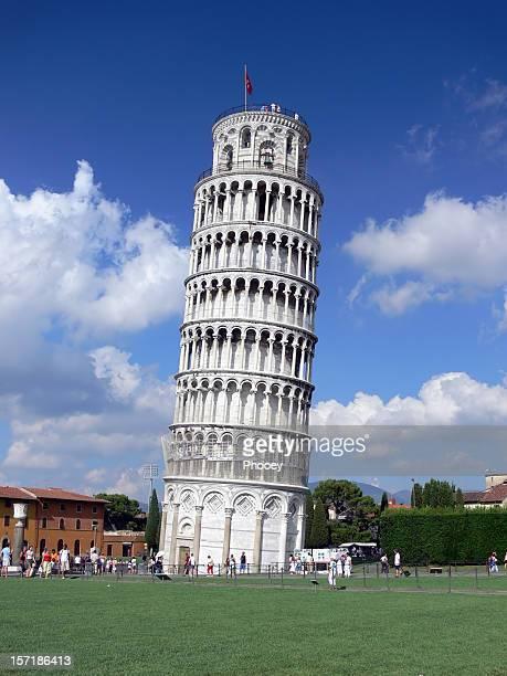 torre di pisa - torre di pisa foto e immagini stock