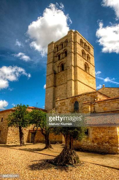 Torre del Salvador of Zamora Romanesque cathedral