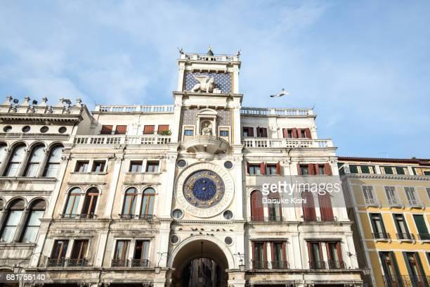 Torre dell'Orologio in Venice, Italy