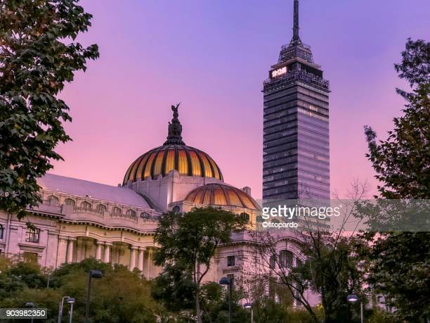 Torre Latinoamericana and Bellas Artes Palace