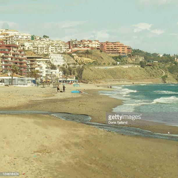 torreblanca beach - dorte fjalland stock-fotos und bilder
