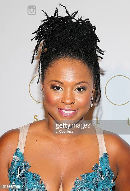 Torrei Hart attends the 2016 Oscar Salute Hosted By Kevin Hart Academy Awards Screening And AfterParty at W Hollywood on February 28 2016 in...