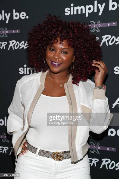 Torrei Hart attends the Amber Rose x Simply Be Launch Party at Bootsy Bellows on June 20 2018 in West Hollywood California
