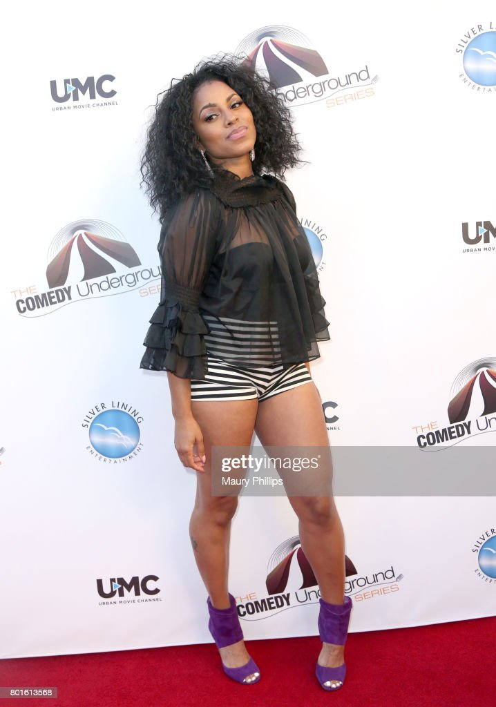Torrei Hart attends The Comedy Underground Series at The Alex Theatre on June 26, 2017 in Glendale, California.