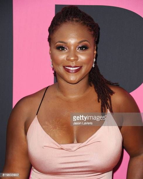 Torrei Hart attends the premiere of 'Girls Trip' at Regal LA Live Stadium 14 on July 13 2017 in Los Angeles California