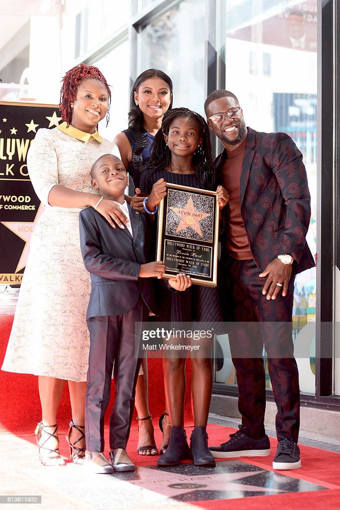 Kevin Hart Honored With Star On The Hollywood Walk Of Fame : News Photo