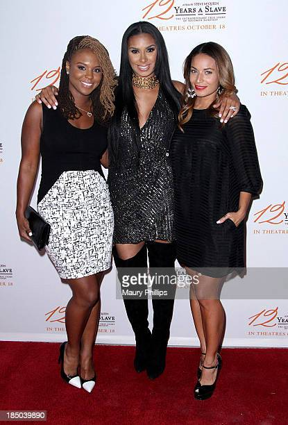 Torrei Hart Laura Govan and Zena Forster arrive at Fox Searchlight Pictures' 12 Years A Slave Los Angeles special screening at Rave Baldwin Hills 15...