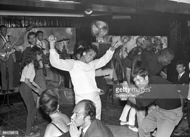 1964 Torremolinos Malaga Costa del Sol Dance in a nightclub