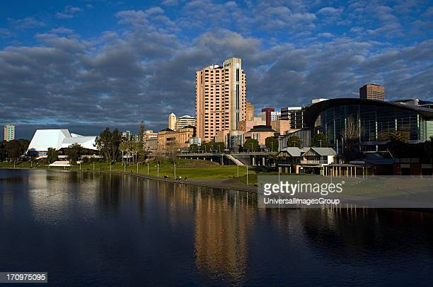 Torrens River, Adelaide, South Australia, SA, Australia.