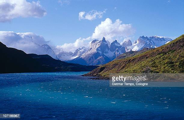 torres del paine, chile - dietmar temps stock photos and pictures