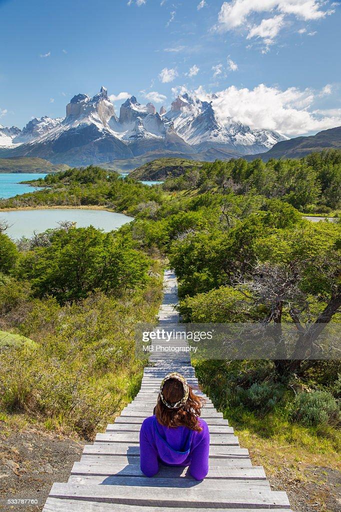 Torres Del Paine, Chile : Foto stock