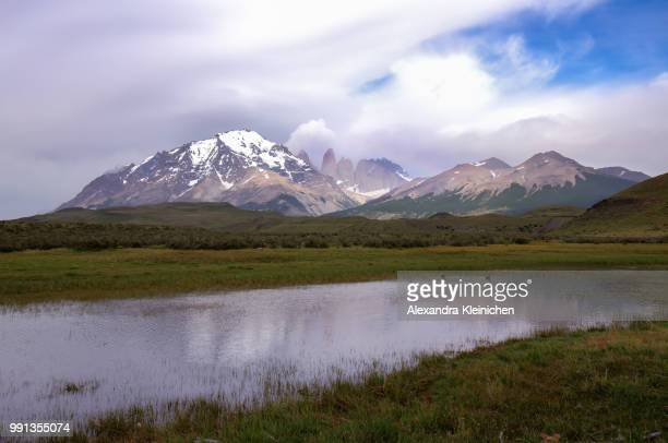 Torres del Paine in the morning