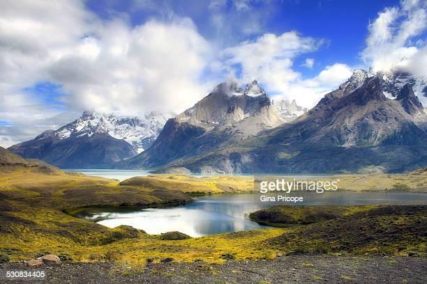 Torres del Paine landscape.
