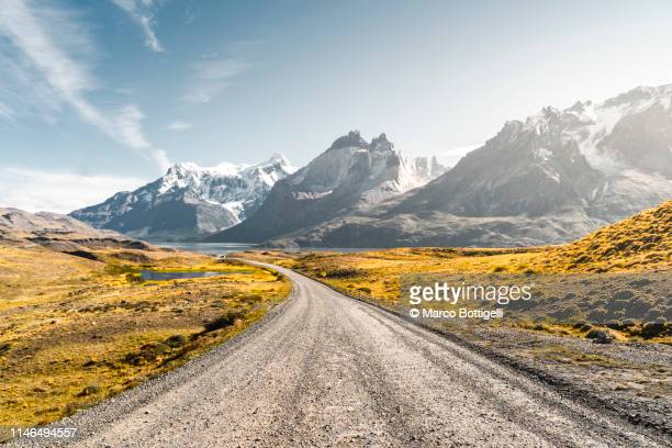torres del paine national park, chilean patagonia - remote location stock pictures, royalty-free photos & images