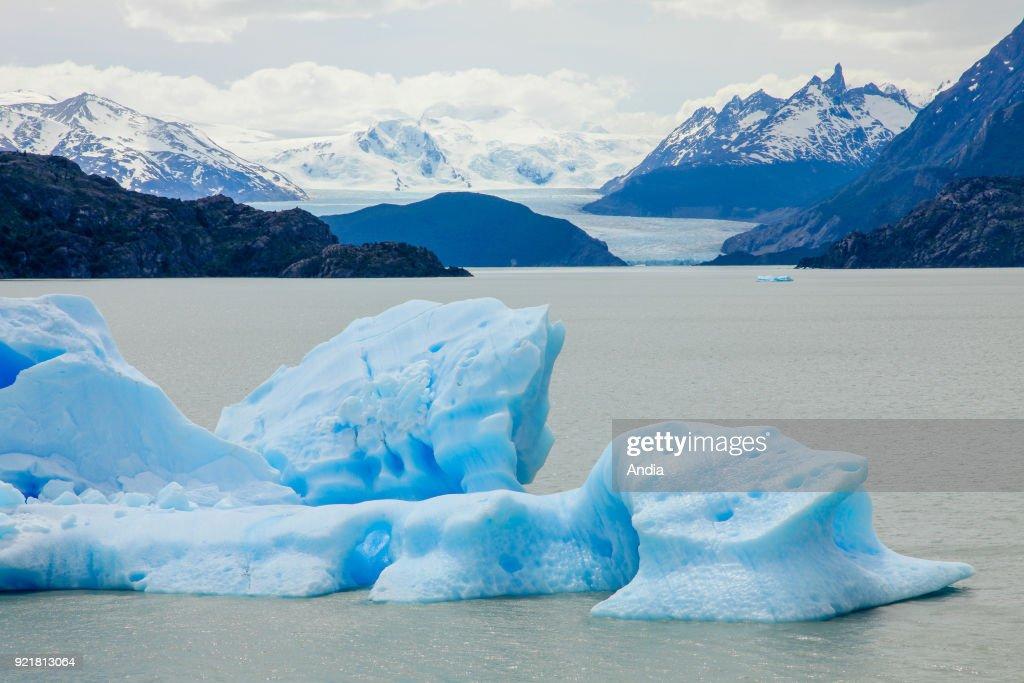 Torres del Paine National Park. : News Photo