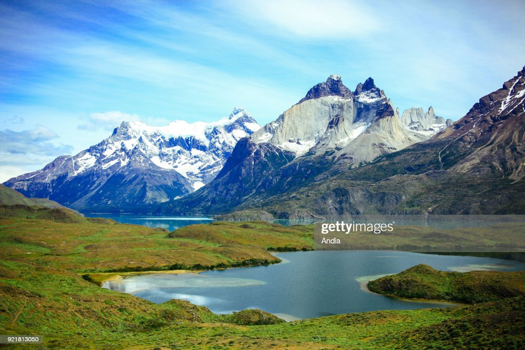 Torres del Paine National Park. : News Photo