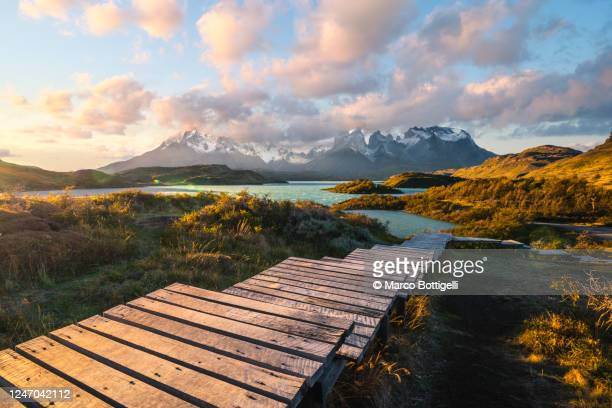 torres del paine national park, patagonia, chile - chile stock pictures, royalty-free photos & images