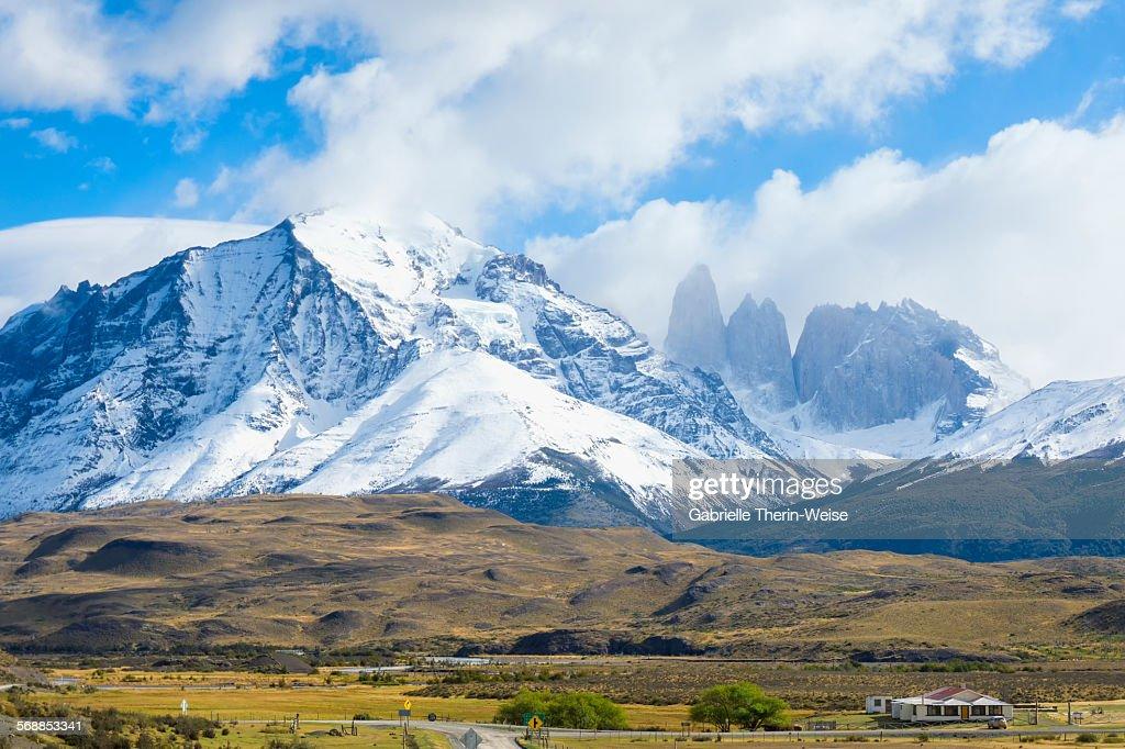 Torres del Paine NP : Stock Photo