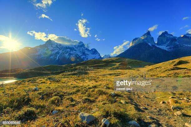 torres del paine, patagônia, chile - chile - fotografias e filmes do acervo
