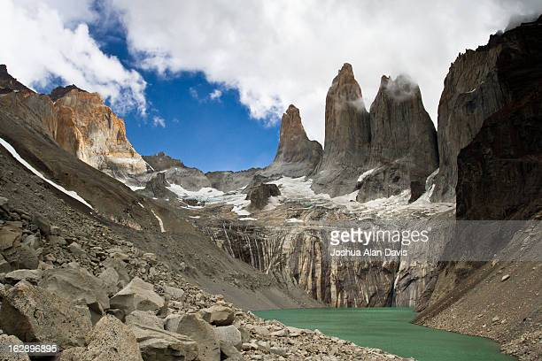 torres del paine - joshua alan davis stock pictures, royalty-free photos & images