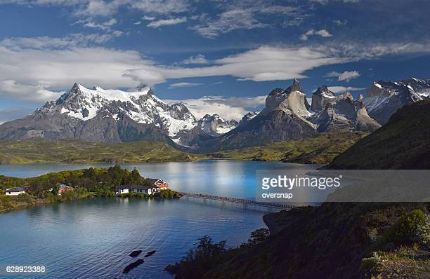 torres del paine - patagonia chile stock photos and pictures