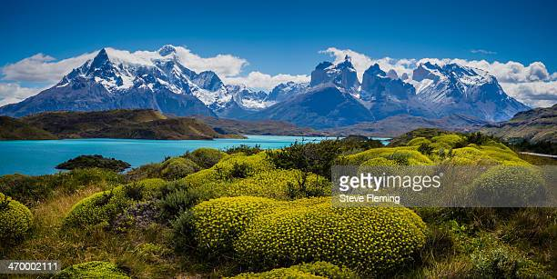 torres mountain range - explored - chile stock pictures, royalty-free photos & images