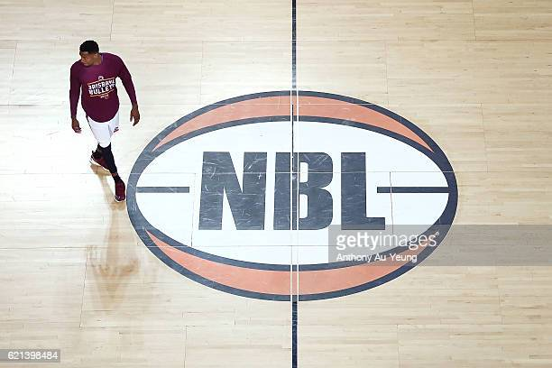 Torrey Craig of Brisbane during warm up prior to the round five NBL match between the New Zealand Breakers and the Brisbane Bullets at Vector Arena...