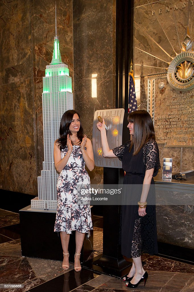 Torrey DeVitto and Amy Laird Light The Empire State Building Green In Honor Of Mental Health & Torrey DeVitto Lights The Empire State Building Green In Honor Of ... azcodes.com