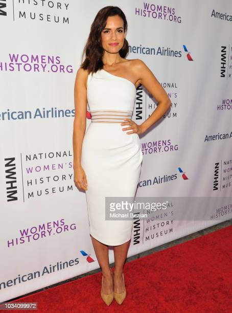 Torrey DeVitto arrives at Women Making History Awards - Los Angeles on September 15, 2018 in Los Angeles, California.