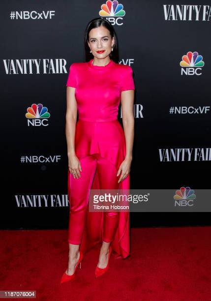 Torrey DeVitto attends NBC and Vanity Fair's celebration of the season at The Henry on November 11, 2019 in Los Angeles, California.