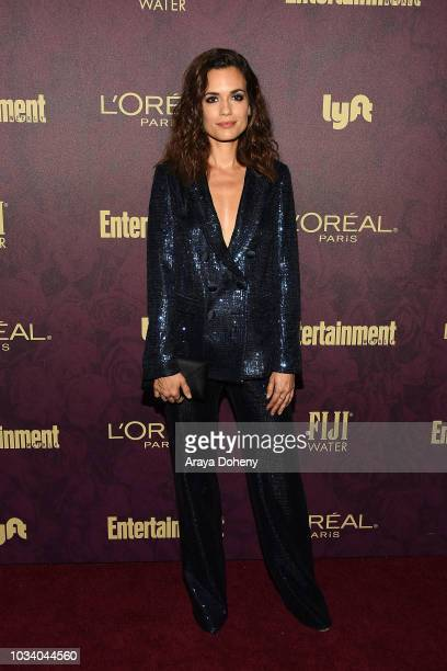 Torrey DeVitto attends the 2018 Pre-Emmy Party hosted by Entertainment Weekly and L'Oreal Paris at Sunset Tower Hotel on September 15, 2018 in West...