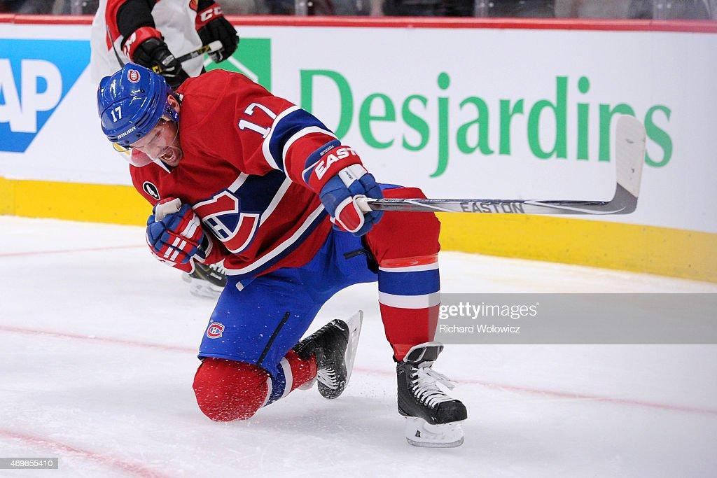 Ottawa Senators v Montreal Canadiens : News Photo