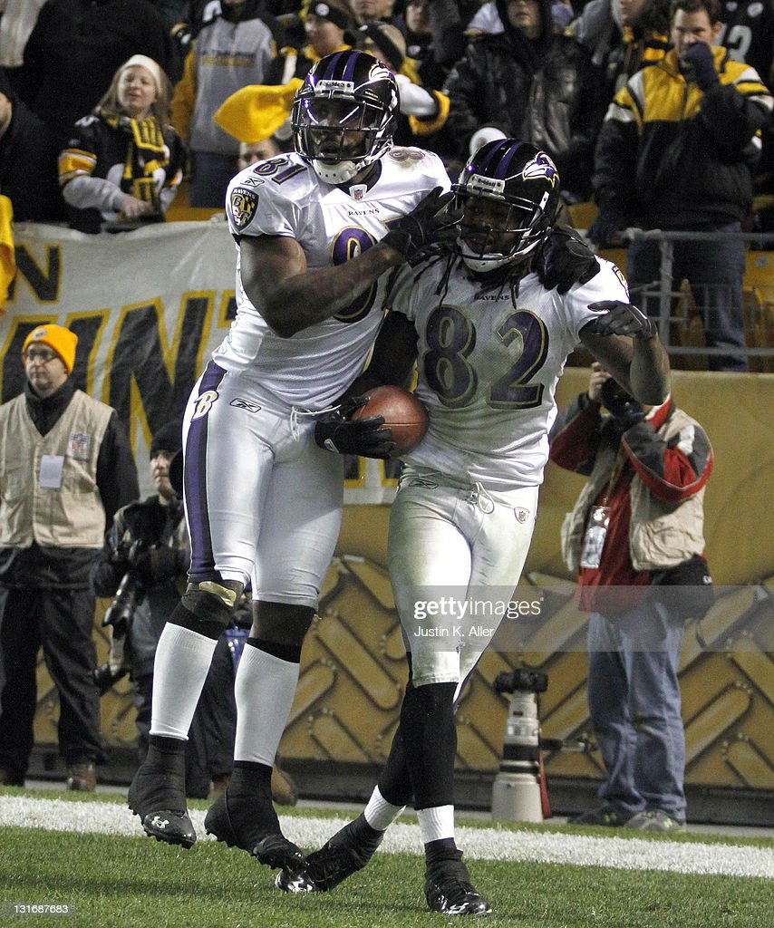 Baltimore Ravens v Pittsburgh Steelers : Photo d'actualité