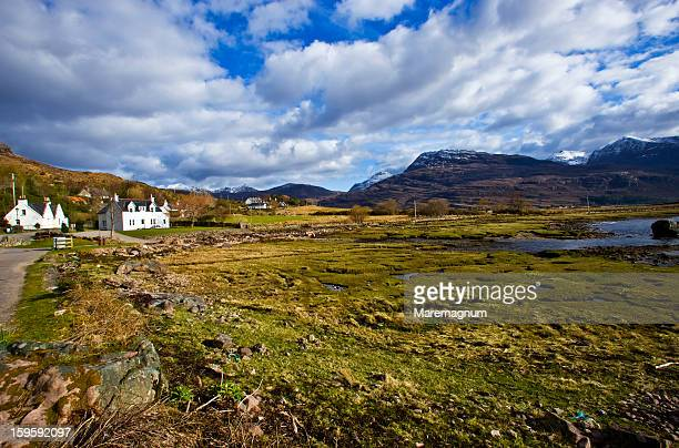 torridon, landscape - wester ross stock pictures, royalty-free photos & images